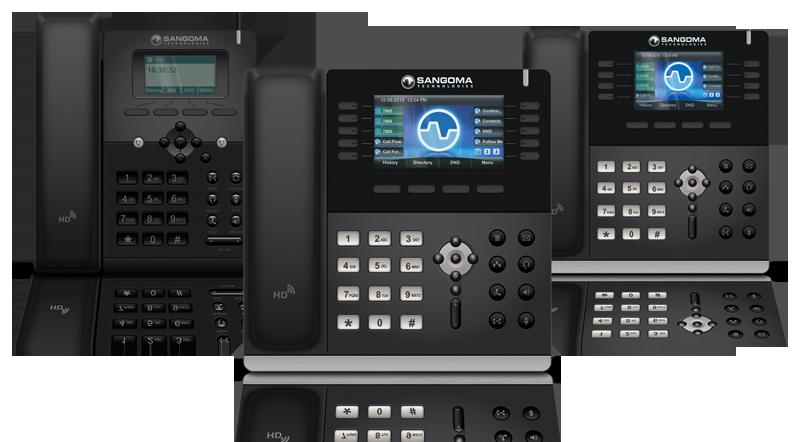 Sangoma Launches New IP Phones Designed for FreePBX and PBXact - FreePBX