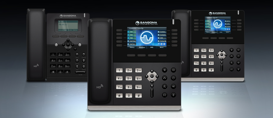 Sangoma Launches New IP Phones Designed for FreePBX and