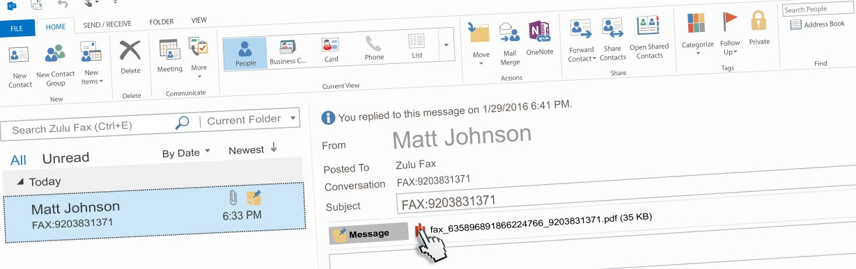 outlook-fax-email
