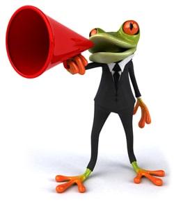 Hello Tango the Frog Graphic