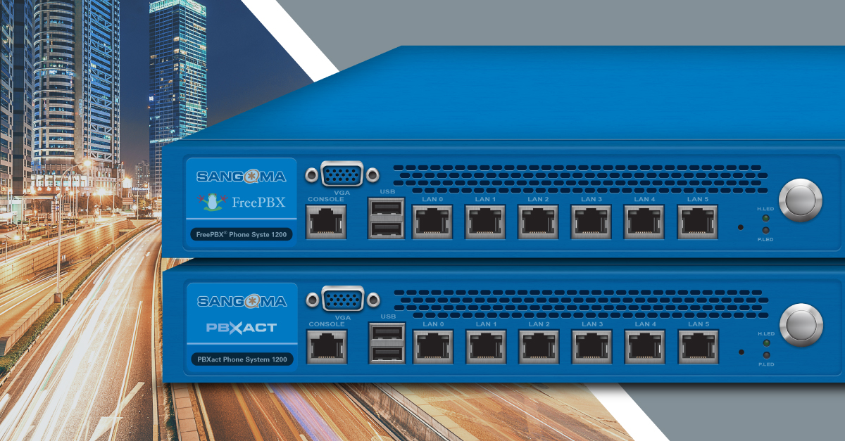 PBXact & FreePBX 1200 Appliances