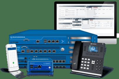 Sangoma's PBXact Unified Communications System