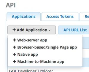 Adding a Machine-to-Machine App