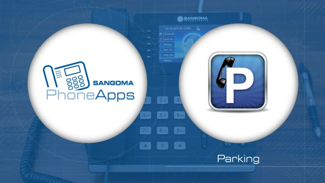 Sangoma PhoneApps: Parking Thumbnail