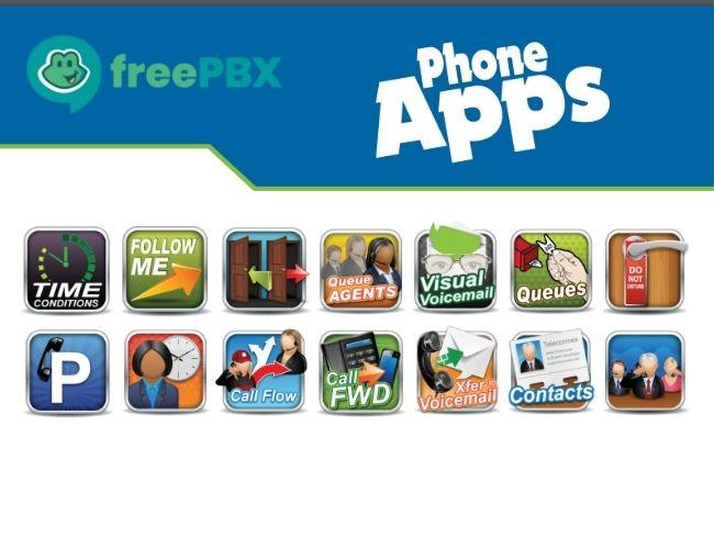FreePBX Module - PhoneApps - Thumbnail